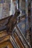 Gargoyle em Praga Fotos de Stock