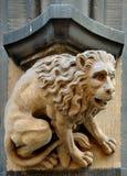 Gargoyle en la pared ayuntamiento en Munich, Alemania Foto de archivo libre de regalías
