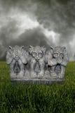 Gargoyle Evil Royalty Free Stock Photography