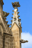 Gargoyle (gothic church architectural detail) Stock Image