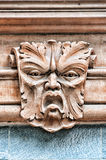 Gargoyle Head Helsingborg Royalty Free Stock Image