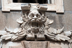 Gargoyle Head - Palazzo Tursi Genova Stock Photos