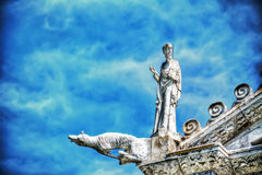 Free Gargoyle In Pisa Cathedral Stock Images - 56559704
