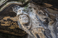Gargoyle in Lviv, Ukraine Stock Image