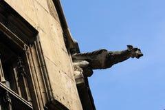 Gargoyle medioevale Fotografia Stock