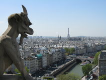 Gargoyle in Paris Royalty Free Stock Photography