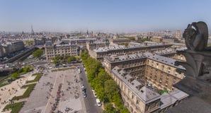 Gargoyle of Notre dame de Paris Royalty Free Stock Images