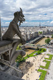 Gargoyle at Notre Dame de Paris Royalty Free Stock Image