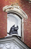 Gargoyle on on Old House Stock Photo