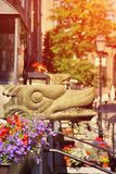 Gargoyle in Old Town Royalty Free Stock Photography