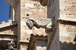 Gargoyle in Palma de Mallorca cathedral Royalty Free Stock Image