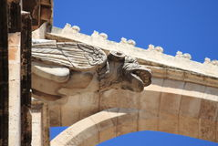 Gargoyle in Palma de Mallorca cathedral Royalty Free Stock Photography