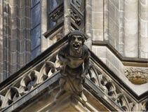 Gargoyle in Prague Royalty Free Stock Photography