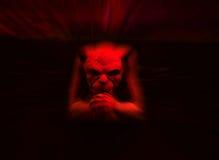 Gargoyle rosso Fotografia Stock Libera da Diritti