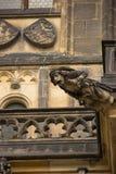 Gargoyle of Saint Vitus Cathedral, Prague stock photography