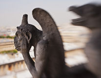 Gargoyle With Special Effect Royalty Free Stock Photos