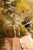 Gargoyle-1. Statue of a gargoyle located in Bisbee, AZ Stock Photography