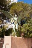 Gargoyle-2. Statue of a gargoyle located in Bisbee, AZ Royalty Free Stock Photos