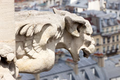 Gargoyle Tour Saint-Jacques Royalty Free Stock Images