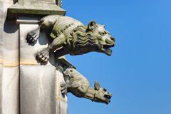 Gargoyle at Ulm Minster, Germany Royalty Free Stock Photography