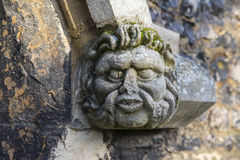 Gargoyle on Waltham Abbey Church. A gargoyle on the exterior of Waltham Abbey Church in Waltham Abbey, Essex Stock Photography