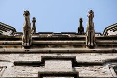 Gargoyles στην εκκλησία του ST Michael - Γάνδη - Βέλγιο Στοκ φωτογραφία με δικαίωμα ελεύθερης χρήσης