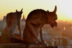 Gargoyles Fotografia Stock Libera da Diritti