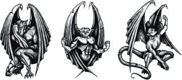 Gargoyles Immagine Stock Libera da Diritti