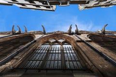 Kyrka av Sanktt-Severin i Paris Royaltyfri Bild