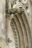 Gargoyles on the Cathedral Royalty Free Stock Photo