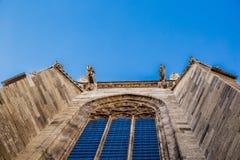Gargoyles on the Church building stock photos