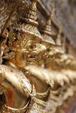 Gargoyles del demone al santuario del Buddha verde smeraldo, Bangkok (po Fotografia Stock Libera da Diritti