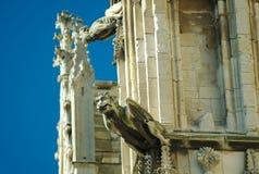Gargoyles inglesi fotografia stock libera da diritti