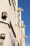 Gargoyles at La Lonja monument. In Palma de Mallorca, Spain Stock Photos
