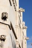 Gargoyles at La Lonja monument Stock Photos