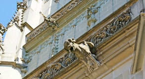 The gargoyles of Minster Cathedral Royalty Free Stock Image