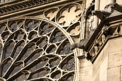 The Gargoyles of Notre Dame Stock Photo