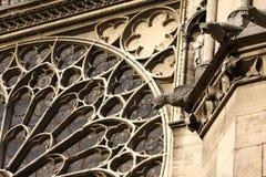 The Gargoyles of Notre Dame Stock Photo