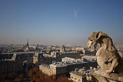 The Gargoyles of Notre Dame Royalty Free Stock Image