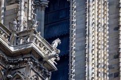 Gargoyles of Notre-Dame de Paris Royalty Free Stock Image