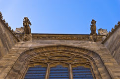 Gargoyles and other details from the exterior of saint Stephen's catedral at downtown of Vienna Stock Image