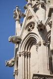 Gargoyles of Palma de Mallorca cathedral. Gargoyles in the cathedral of Palma de Mallorca, Spain Stock Photo