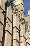 Gargoyles in Palma de Mallorca cathedral Royalty Free Stock Photography