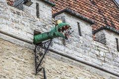 The Gargoyles of Tallinn, Estonia. Stock Image