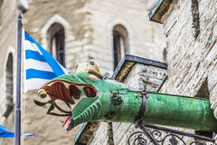 The Gargoyles of Tallinn, Estonia. Stock Images