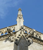 Gargoyles. Vienna. Royalty Free Stock Photo