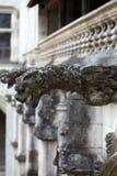 Gargulec na Gockiej katedrze święty Gatien w wycieczkach turysycznych Fotografia Stock