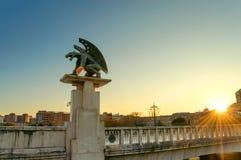 Gargulec statua, Walencja, Hiszpania Fotografia Royalty Free