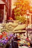 Gargulec w Starym miasteczku Zdjęcie Stock