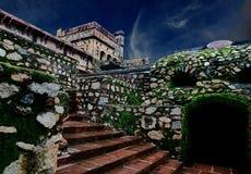 Garh Kundar fort Fotografia Stock